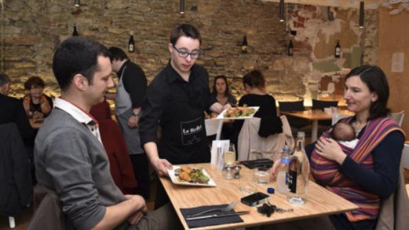Le Reflet, restaurant ordinaire pour salariés extraordinaires