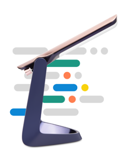 La lampe Lexilight, une lampe d'aide à  la lecture, conçue pour les personnes dyslexiques